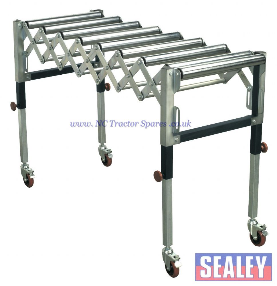 Adjustable Roller Stand 450 1300mm 130kg Capacity
